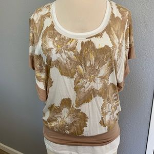 NY&Co flutter sleeve top